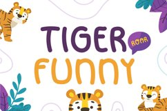 Tiger Funny Product Image 1