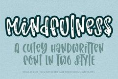 Mindfulness- A cute handritten font Product Image 1