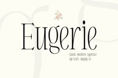 Eugerie - Classic Modern Typeface Product Image 1