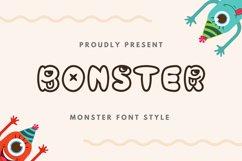 Bonster Font Product Image 1