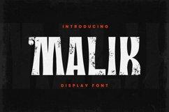 Malik Font Product Image 2