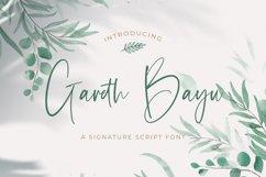 Gareth Bayu - Handwritten Font Product Image 1