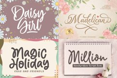 Cute and Friendly - Best seller Font Bundles Product Image 2