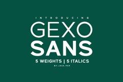 Gexo Sans - Elegant Sans Product Image 1