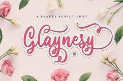 Glaynesy- A Beauty Script Font Product Image 1