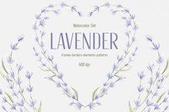 "Watercolor Set ""Lavender"" Product Image 1"