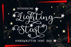 Lighting Start - Font Duo Product Image 1