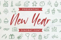 NewYear Font Product Image 1