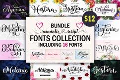 Romantic Script Fonts Collection Product Image 1
