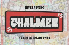 Chalmer Font Product Image 1