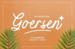 Goersen Font Product Image 1