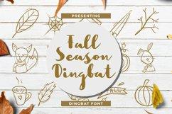 FallSeasonDingbat Font Product Image 1