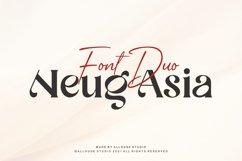 Web Font - Neug Asia - Two Styles Product Image 1