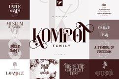 Kompot Family - 10 fonts Product Image 1