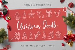 Christmas Doodle Font Product Image 1