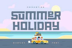 Summer Holiday Font Product Image 1