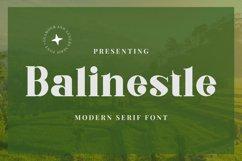 Balinestle Font Product Image 1