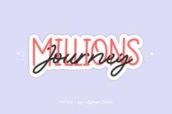 Web Font - Millions Journey - Font Duo Product Image 1