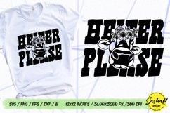 Heifer please, Cow svg, Heifer svg Product Image 1