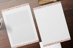 Pink Lined and Unlined Journaling Papers Product Image 1