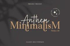 Anthem Minimalism font duo Product Image 1