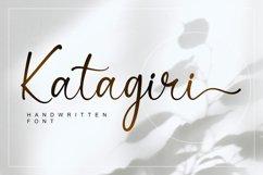 Katagiri - Handwritten Font Product Image 1