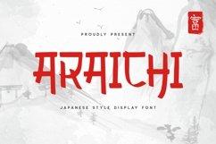 Araichi Font Product Image 1