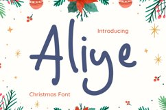 Aliye Font Product Image 1