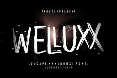WELLUXX - Allcaps Handbrush Font Product Image 1