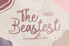 The Beastest Font Product Image 1