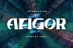 Afigor Font Product Image 1