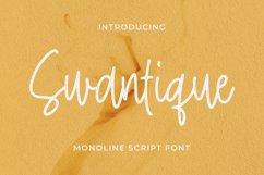 Swantique Font Product Image 1