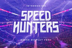 Speedhunters Font Product Image 1