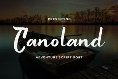 Canoland Font Product Image 1