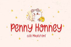 Penny Honney - Cute Playful Font Product Image 1