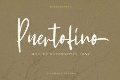 Puertofino - Modern Handwritten Product Image 1