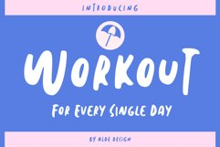 Workout Product Image 1