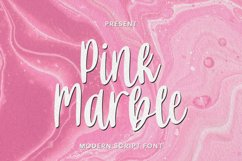 Pink Marbles Font Product Image 1