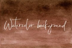 Brown Watercolor Digital Paper Texture Product Image 1