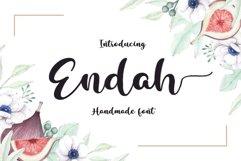 Endah Script Brush Product Image 1
