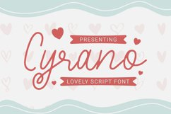 Cyrano Font Product Image 1