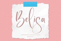 Belisa - Modern Script Font Product Image 1