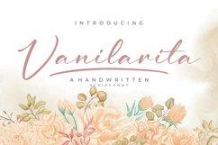Vanilarita - Handwritten Script Font Product Image 1