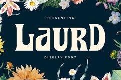Laurd Font Product Image 1