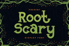 Root Scary Font Product Image 1
