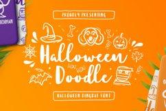 HalloweenDoodle Font Product Image 1