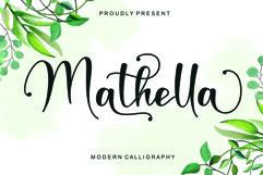 Mathella - Modern Calligraphy Product Image 1