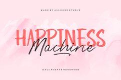 Web Font - Happiness Machine - Font Duo Product Image 1