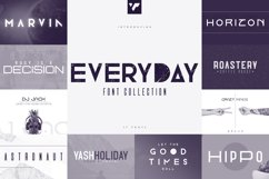 Everyday Font Collection - 17 fonts Product Image 1
