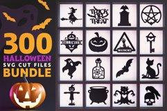 300 Halloween SVG Cut Files Bundle Product Image 1